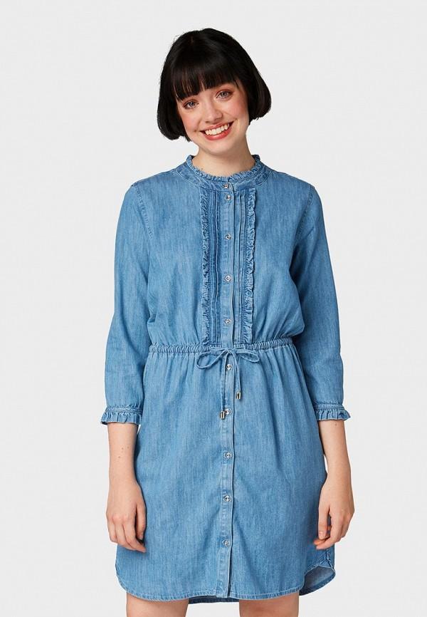 Платье Tom Tailor Denim Tom Tailor Denim TO793EWBXFI4 платье tom tailor denim tom tailor denim to793ewbxfl3