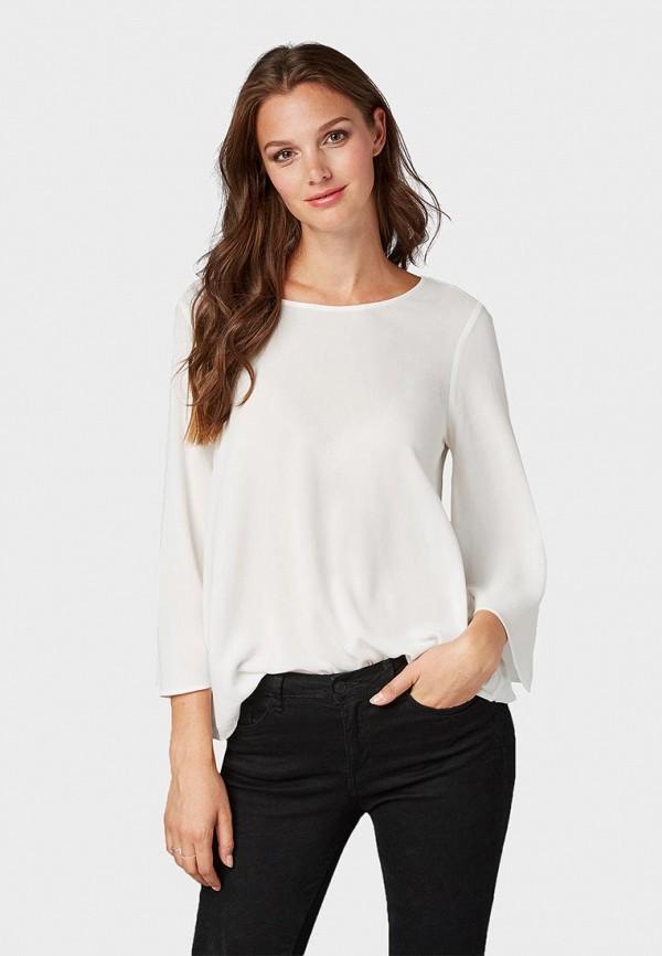 Блуза Tom Tailor Denim Tom Tailor Denim TO793EWBXFK1 цена 2017