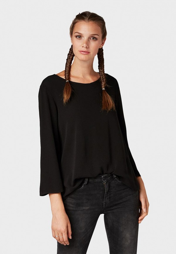 Блуза Tom Tailor Denim Tom Tailor Denim TO793EWBXFK2 цена 2017