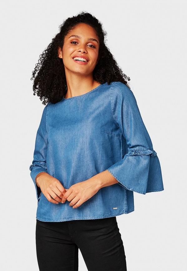 Блуза Tom Tailor Denim Tom Tailor Denim TO793EWCURQ3 цена и фото