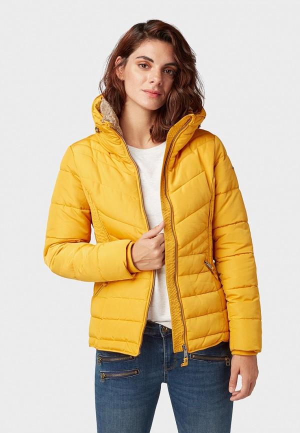 Куртка утепленная Tom Tailor Denim Tom Tailor Denim TO793EWCYWE1 куртка tom tailor denim 1003184 11148