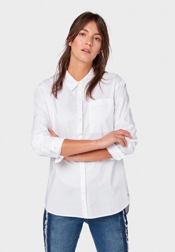 купить Рубашка Tom Tailor Denim Tom Tailor Denim TO793EWDREQ8 по цене 3380 рублей