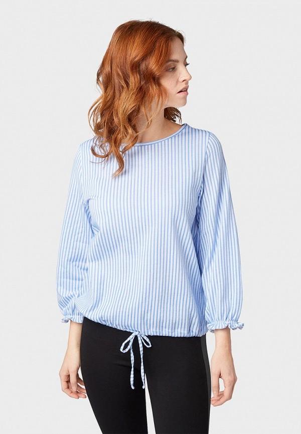 Блуза Tom Tailor Denim Tom Tailor Denim TO793EWDTEU5 недорго, оригинальная цена