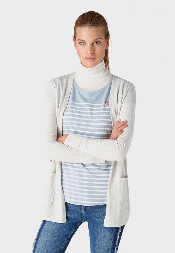 Кардиган Tom Tailor Denim Tom Tailor Denim TO793EWDTFK9 рубашка tom tailor denim tom tailor denim to793emdtdu1