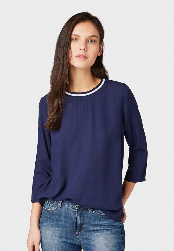 лучшая цена Блуза Tom Tailor Denim Tom Tailor Denim TO793EWDTFN1