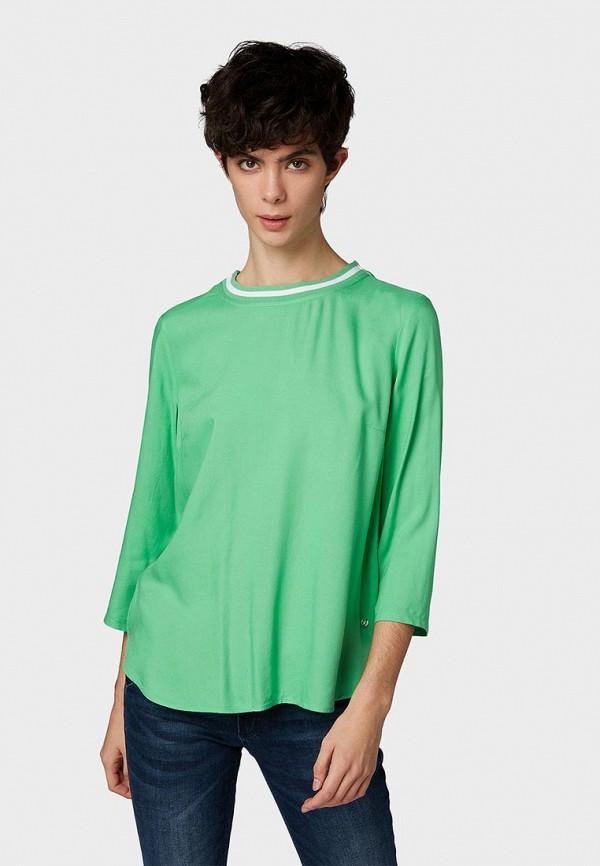 Блуза Tom Tailor Denim Tom Tailor Denim TO793EWDTFN2 рубашка tom tailor denim tom tailor denim to793emdtdu1