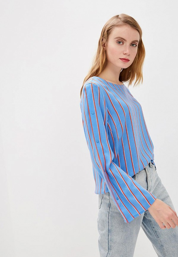 лучшая цена Блуза Tom Tailor Denim Tom Tailor Denim TO793EWDTFN6