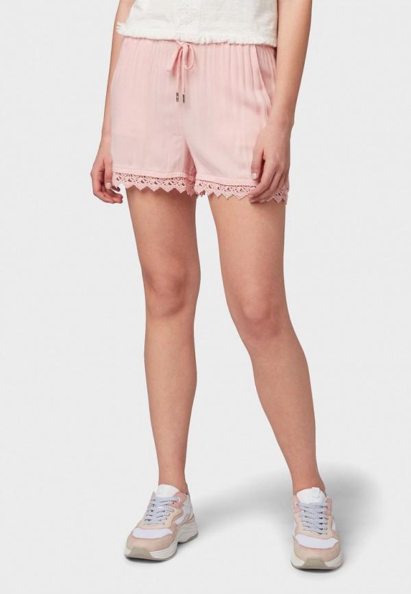 Фото - женские шорты Tom Tailor Denim розового цвета