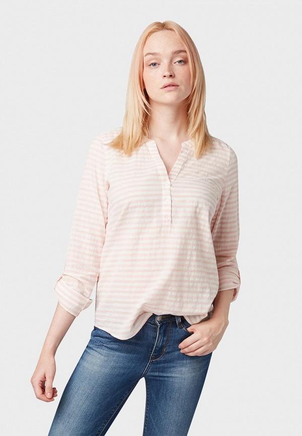 лучшая цена Блуза Tom Tailor Denim Tom Tailor Denim TO793EWEDPC7