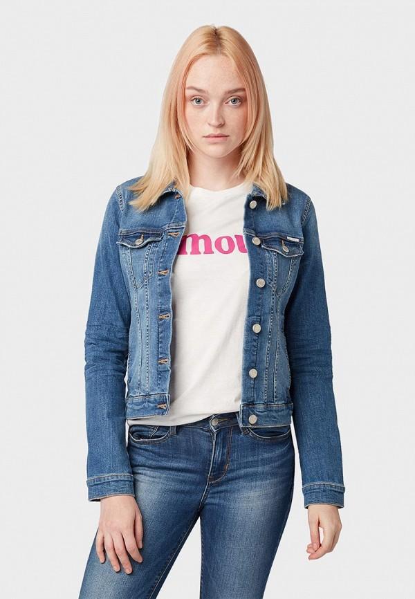 Куртка джинсовая Tom Tailor Denim Tom Tailor Denim TO793EWEOVB0
