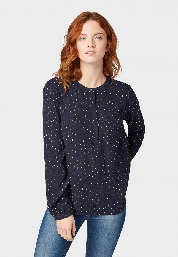 купить Блуза Tom Tailor Denim Tom Tailor Denim TO793EWEXGD5 по цене 2990 рублей