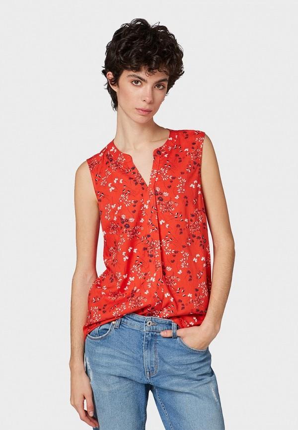 Блуза Tom Tailor Denim Tom Tailor Denim TO793EWEXGE4 блуза tom tailor denim tom tailor denim to793ewexge4