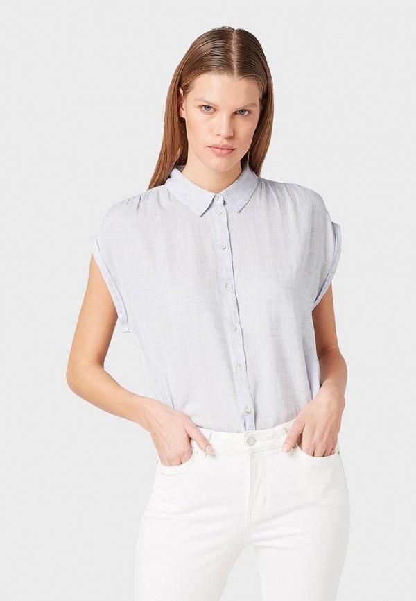 Рубашка Tom Tailor Denim Tom Tailor Denim TO793EWFBCF5 рубашка мужская tom tailor denim цвет белый голубой хаки 2033365 00 12 6696 размер s 46