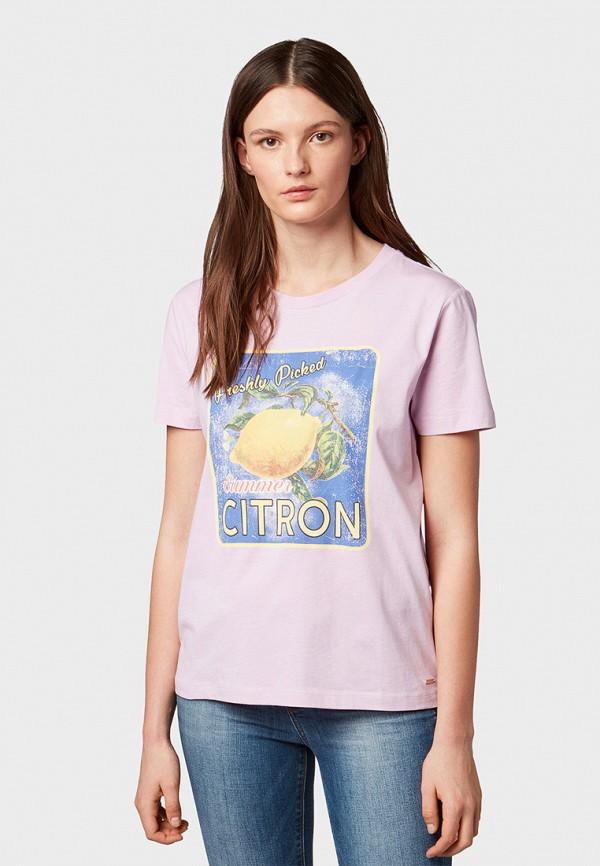 Футболка Tom Tailor Denim Tom Tailor Denim TO793EWFHGP0 футболка tom tailor denim tom tailor denim to793emacpm9