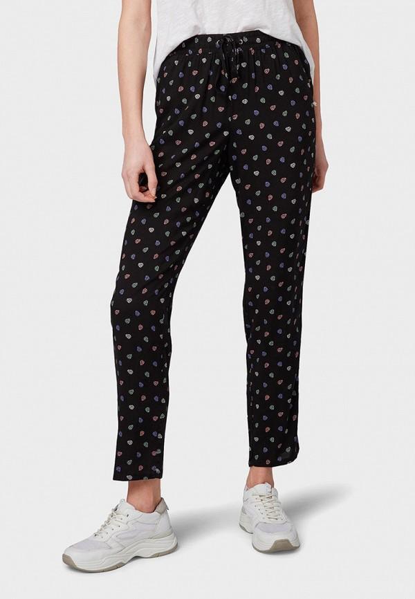 женские брюки tom tailor, черные