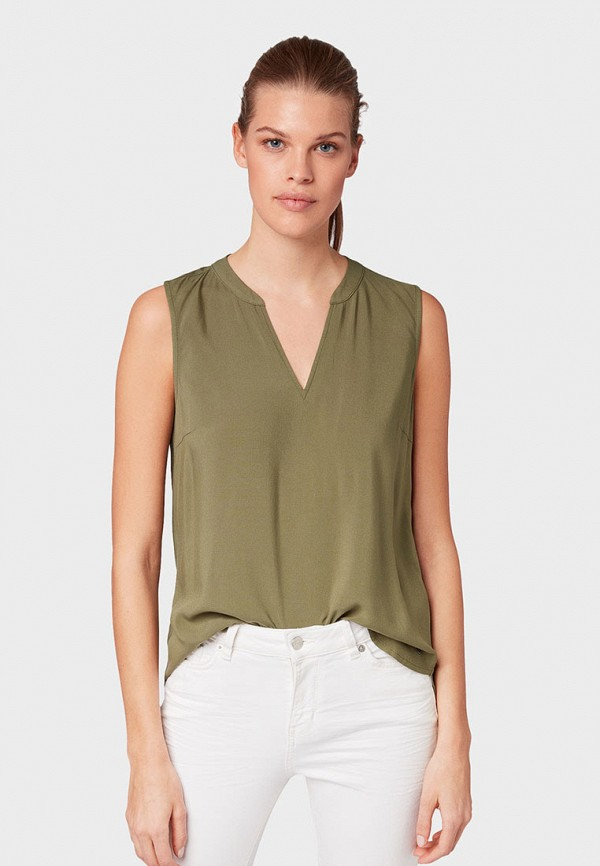 Блуза Tom Tailor Denim Tom Tailor Denim TO793EWGBNM7 цена 2017
