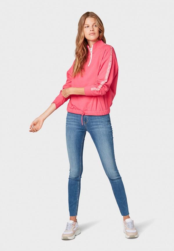 Фото 2 - женские джинсы Tom Tailor Denim синего цвета