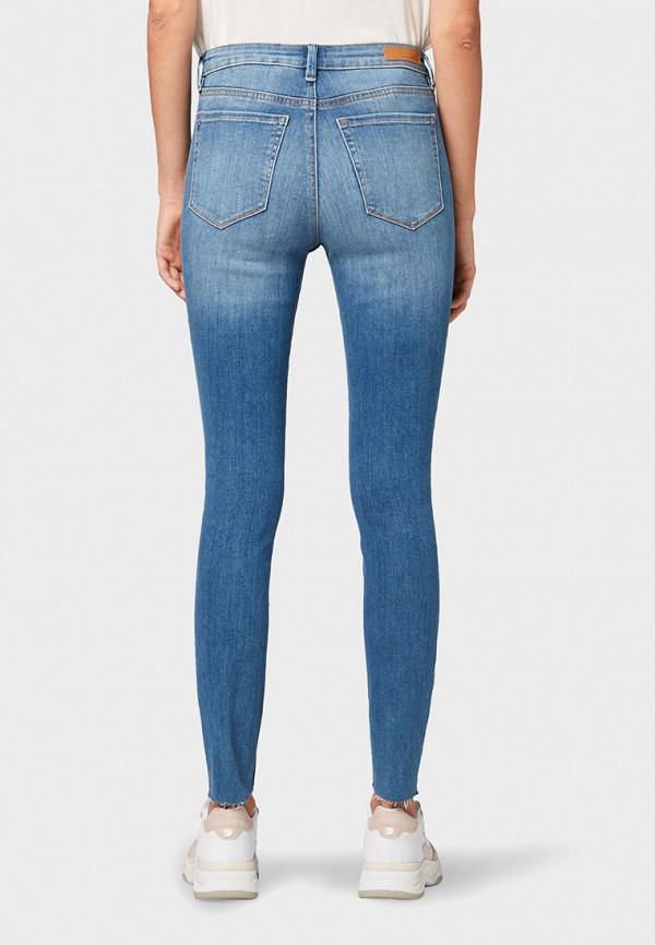 Фото 3 - женские джинсы Tom Tailor Denim синего цвета