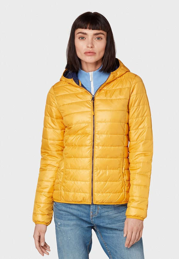 Куртка утепленная Tom Tailor Denim Tom Tailor Denim TO793EWGBOY3 цена