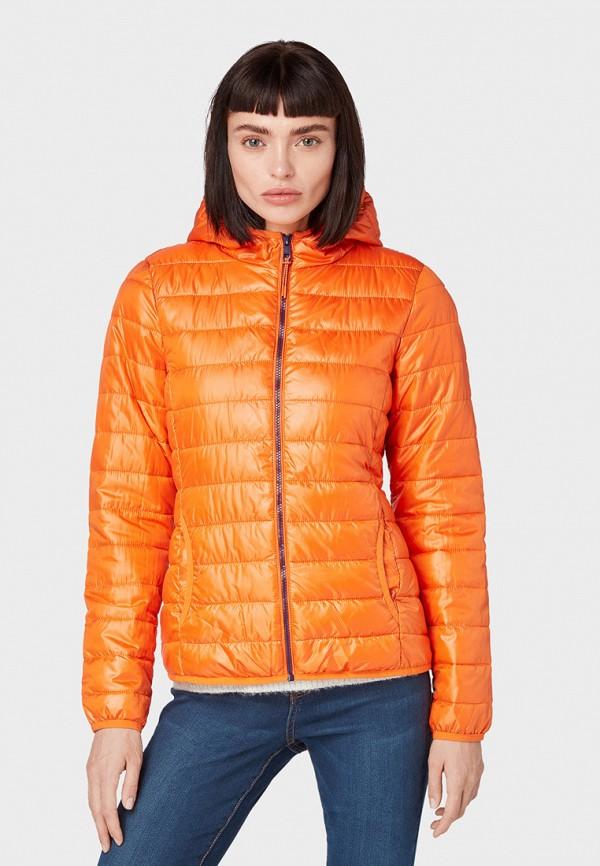 Куртка утепленная Tom Tailor Denim Tom Tailor Denim TO793EWGBOY4 цена