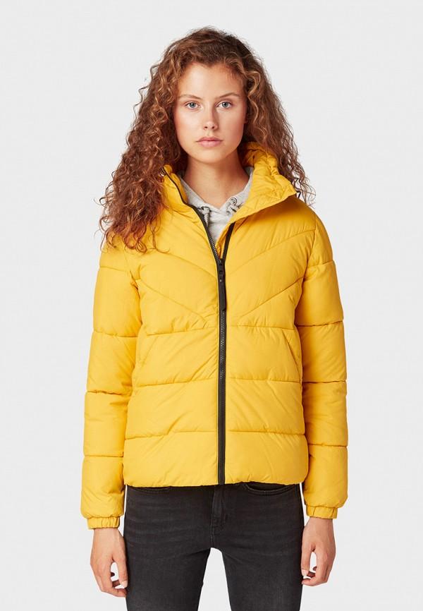 Куртка утепленная Tom Tailor Denim Tom Tailor Denim TO793EWGBOY8 цена