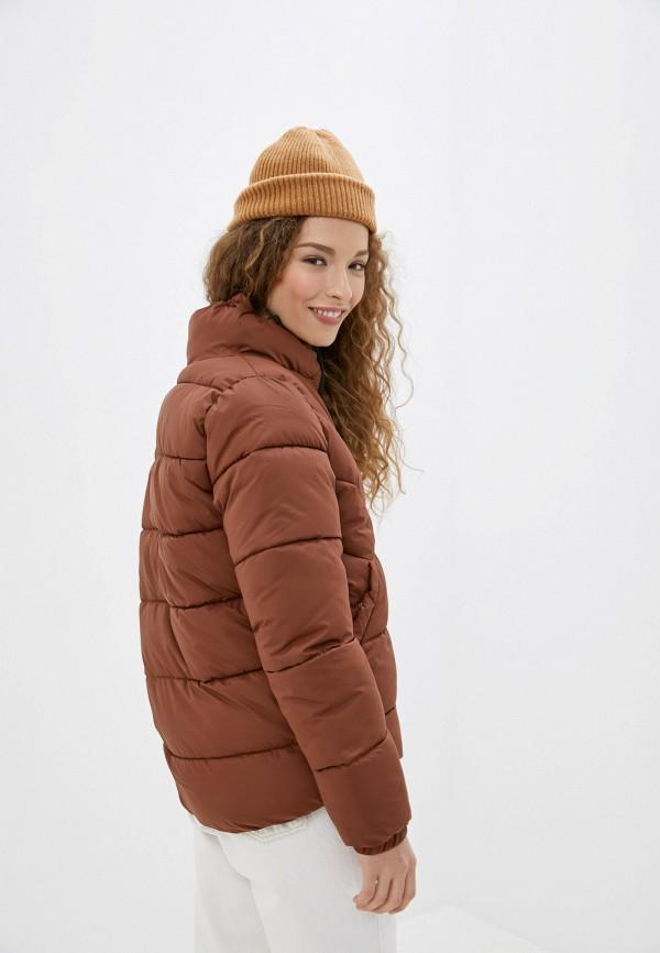 Фото 3 - Куртку утепленная Tom Tailor Denim коричневого цвета
