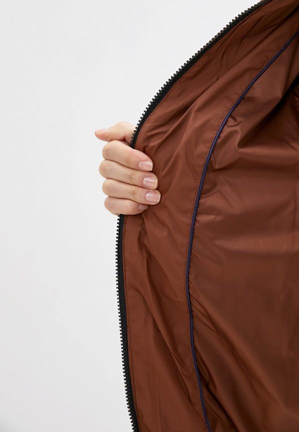 Фото 4 - Куртку утепленная Tom Tailor Denim коричневого цвета