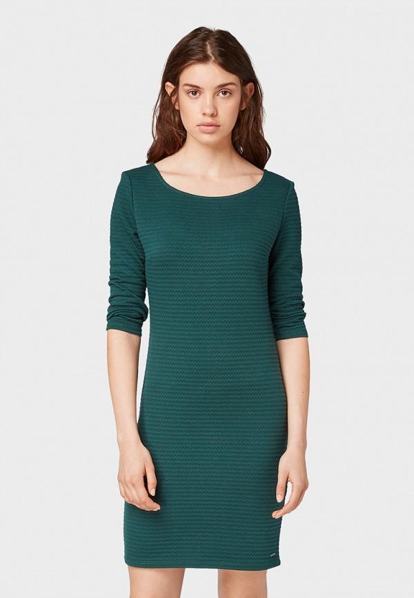 Платье Tom Tailor Denim Tom Tailor Denim TO793EWGBPF9 рубашка tom tailor denim tom tailor denim to793emdtdu1