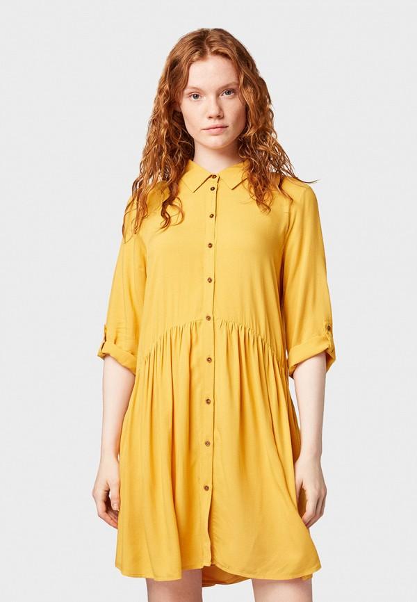 Платье Tom Tailor Denim Tom Tailor Denim TO793EWGBPU7 рубашка tom tailor denim tom tailor denim to793emdtdu1