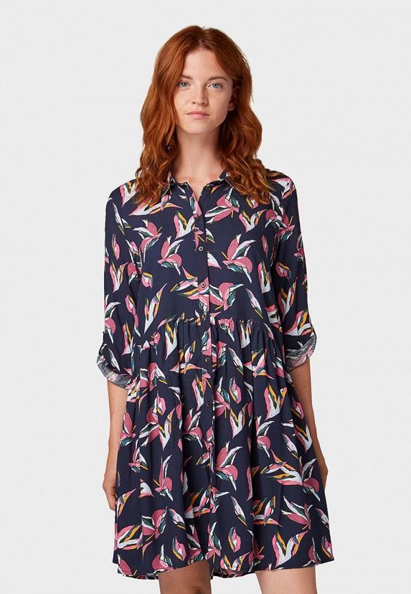 Платье Tom Tailor Denim Tom Tailor Denim TO793EWGBPU8 рубашка tom tailor denim tom tailor denim to793emdtdu1