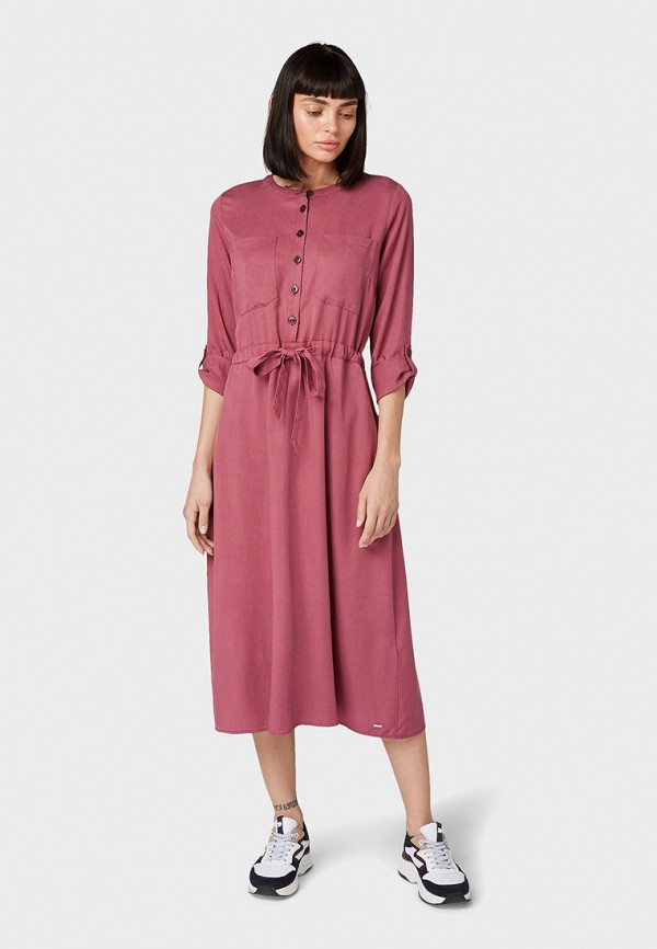 Платье Tom Tailor Denim Tom Tailor Denim TO793EWGBPU9 рубашка tom tailor denim tom tailor denim to793emdtdu1