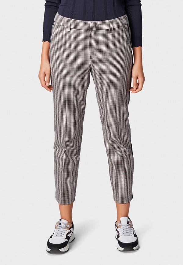 Фото - женские брюки Tom Tailor Denim бежевого цвета