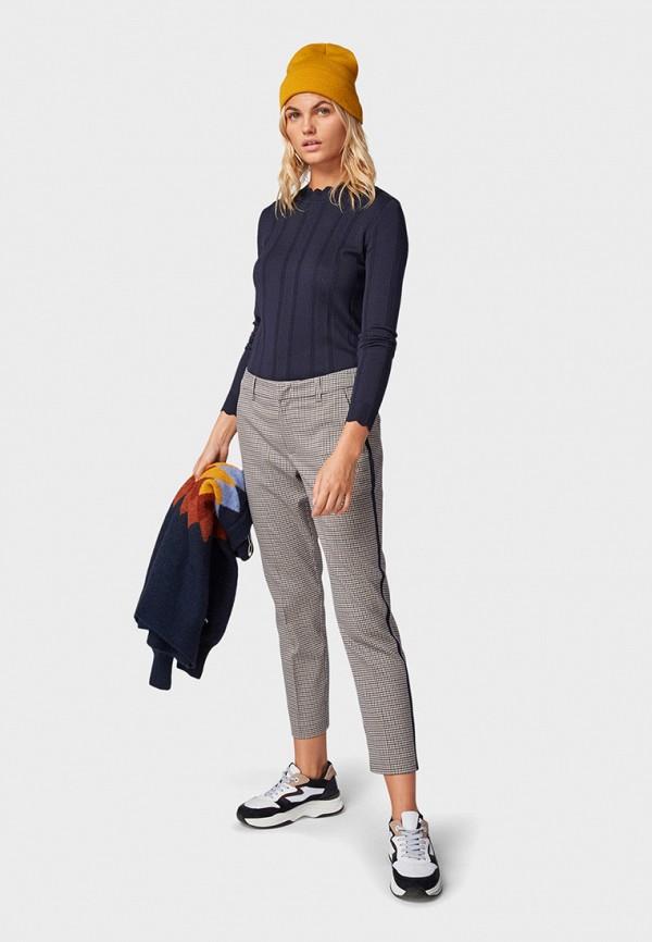 Фото 2 - женские брюки Tom Tailor Denim бежевого цвета