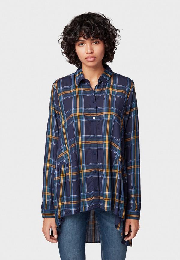 купить Блуза Tom Tailor Denim Tom Tailor Denim TO793EWGBPX9 по цене 4599 рублей