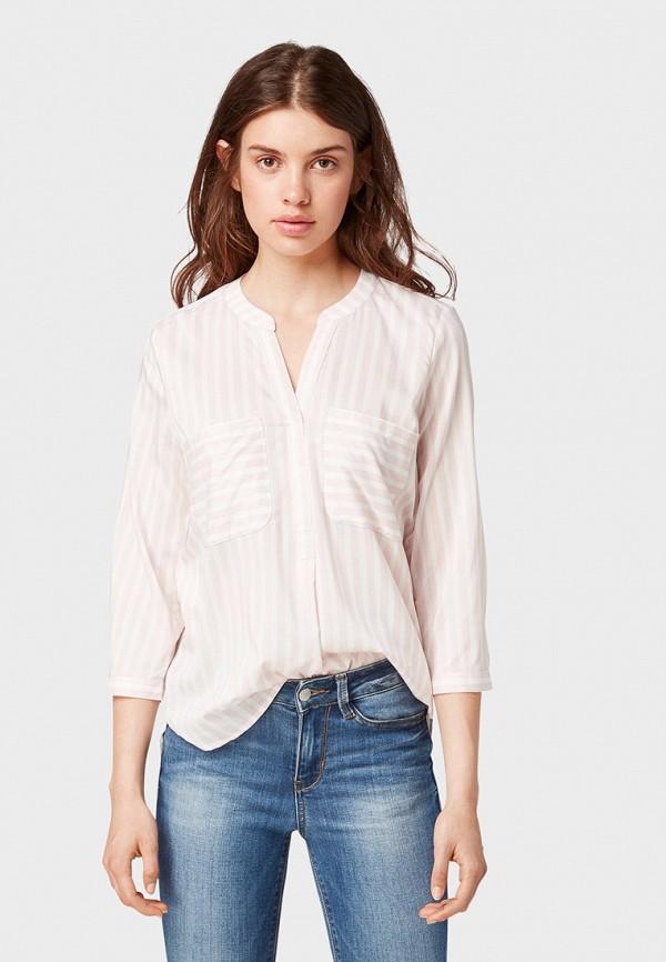 Блуза Tom Tailor Denim Tom Tailor Denim TO793EWGIRP5 цена 2017