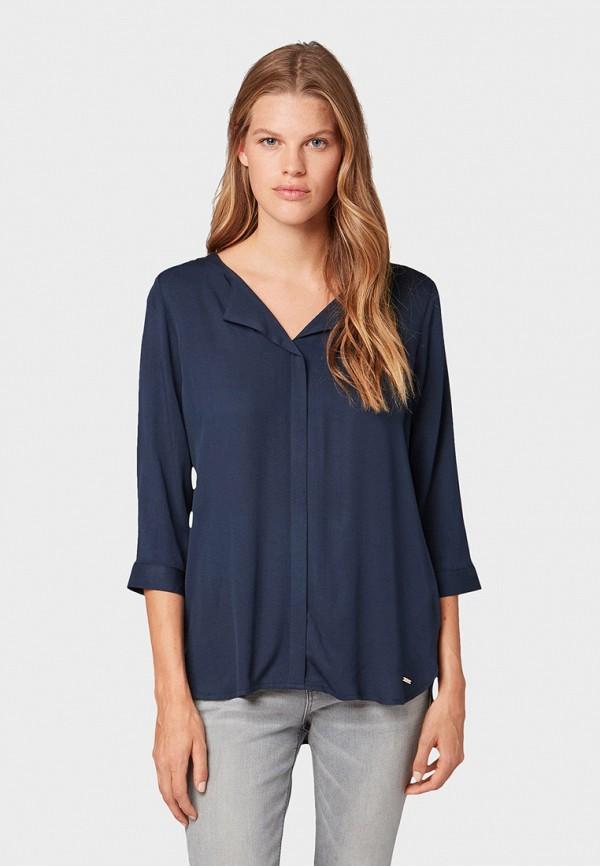 лучшая цена Блуза Tom Tailor Denim Tom Tailor Denim TO793EWGIRQ2