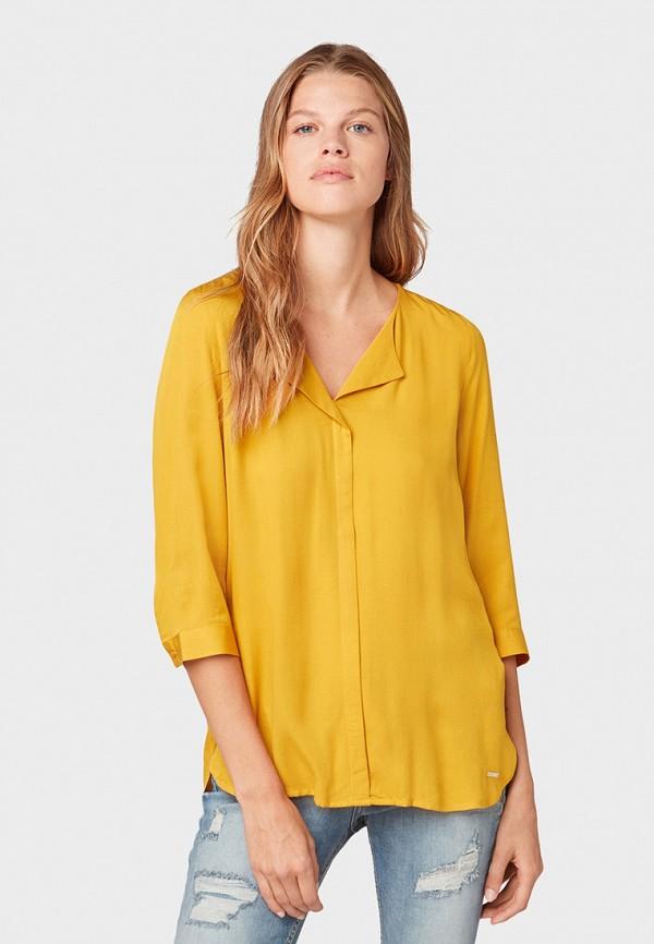 купить Блуза Tom Tailor Denim Tom Tailor Denim TO793EWGIRQ3 по цене 3590 рублей