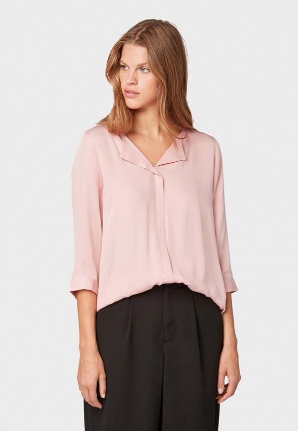 Блуза Tom Tailor Denim Tom Tailor Denim TO793EWGIRQ4 цена 2017