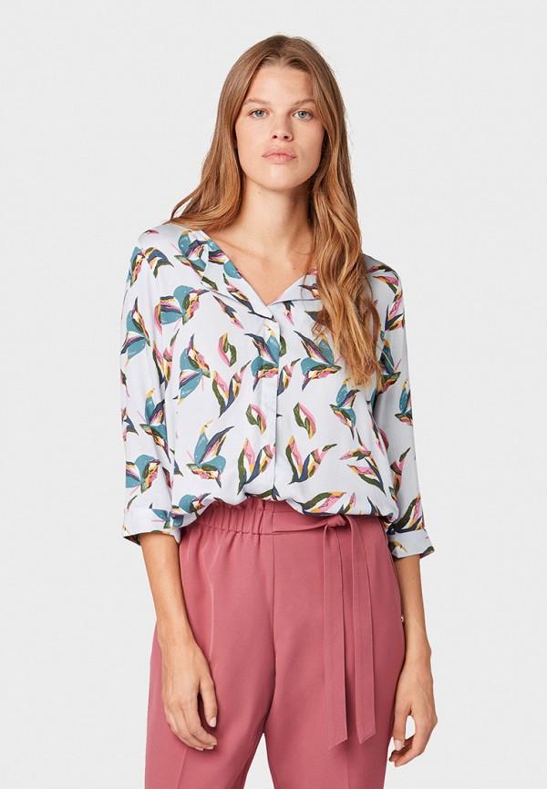 лучшая цена Блуза Tom Tailor Denim Tom Tailor Denim TO793EWGIRQ5