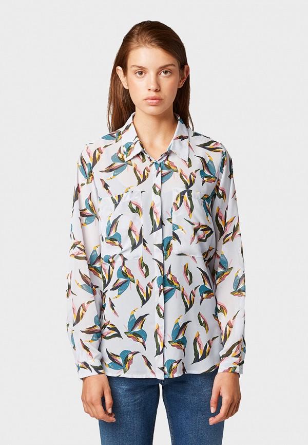 купить Блуза Tom Tailor Denim Tom Tailor Denim TO793EWGIRQ6 по цене 3999 рублей