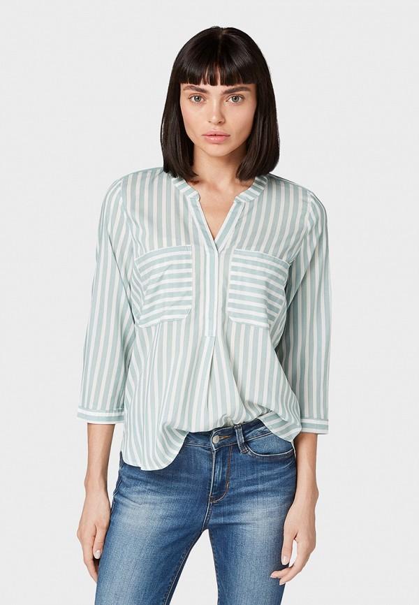 Блуза Tom Tailor Denim Tom Tailor Denim TO793EWGIRR0 цена 2017