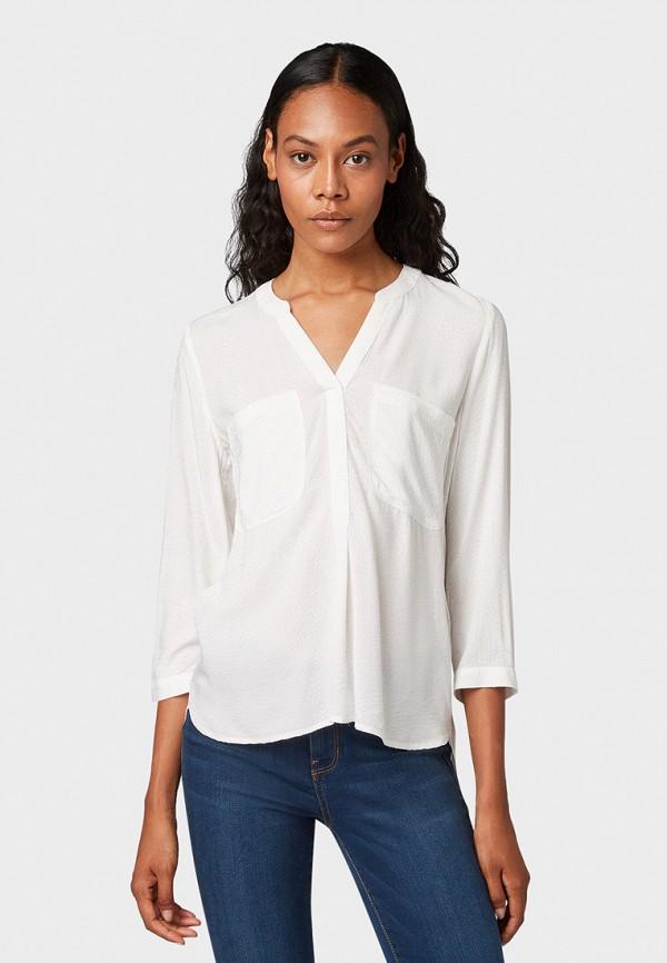 Блуза Tom Tailor Denim Tom Tailor Denim TO793EWGMAC4 цена 2017
