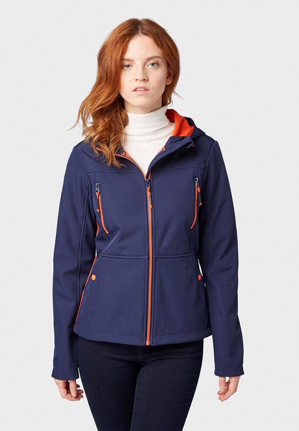Фото - Куртку утепленная Tom Tailor Denim синего цвета