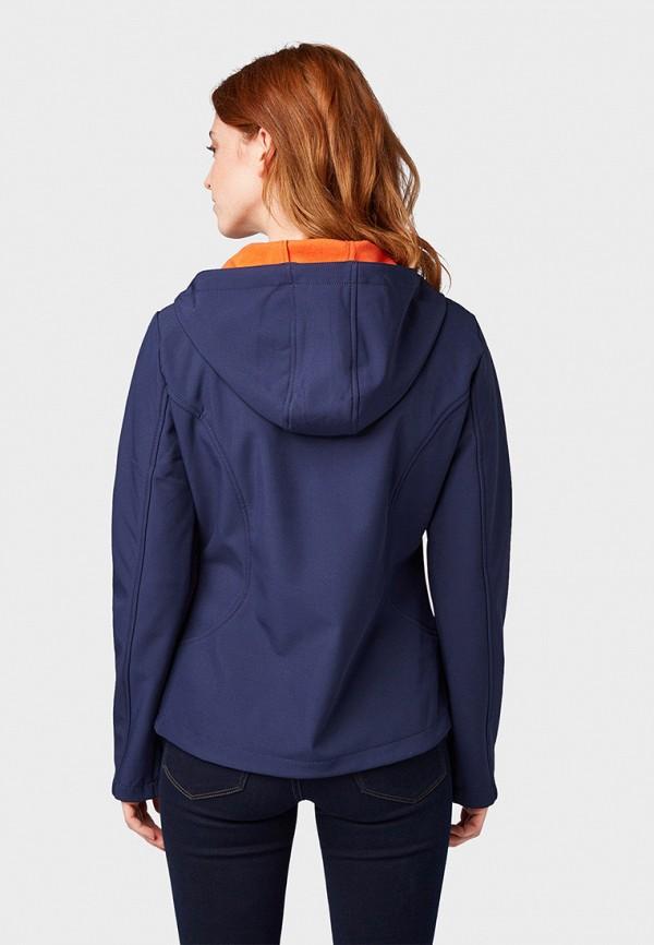 Фото 3 - Куртку утепленная Tom Tailor Denim синего цвета