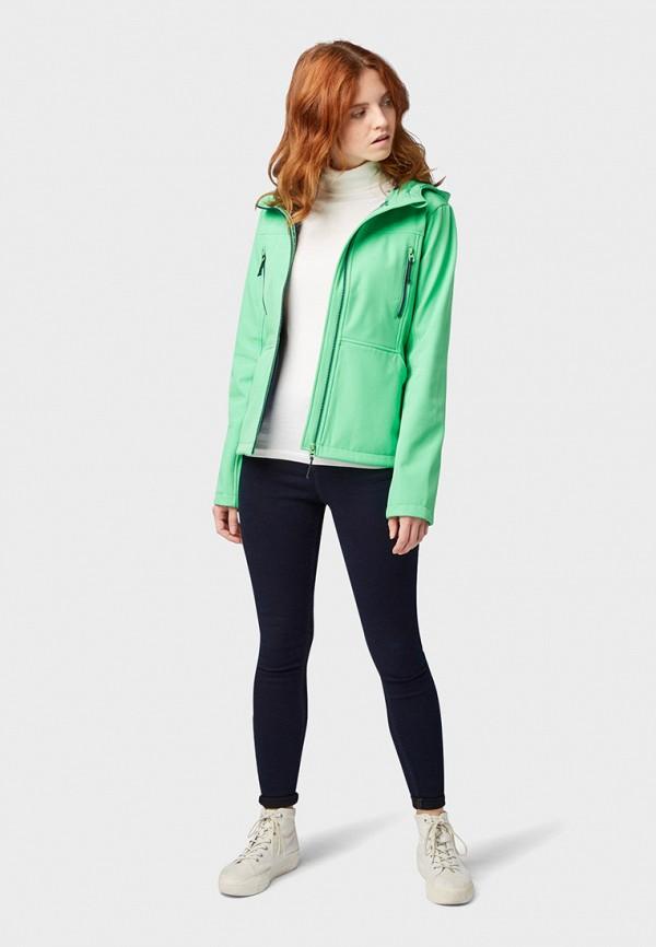 Фото 2 - Куртку утепленная Tom Tailor Denim бирюзового цвета