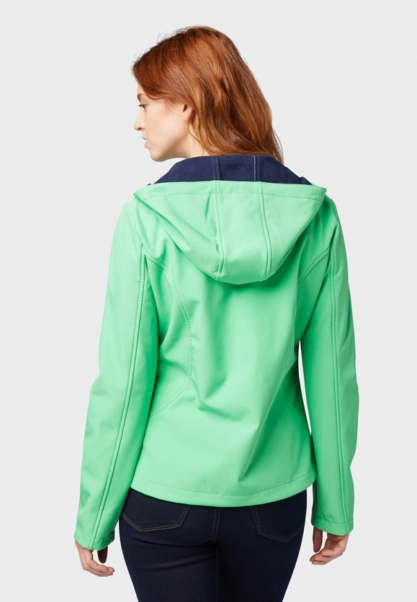 Фото 3 - Куртку утепленная Tom Tailor Denim бирюзового цвета