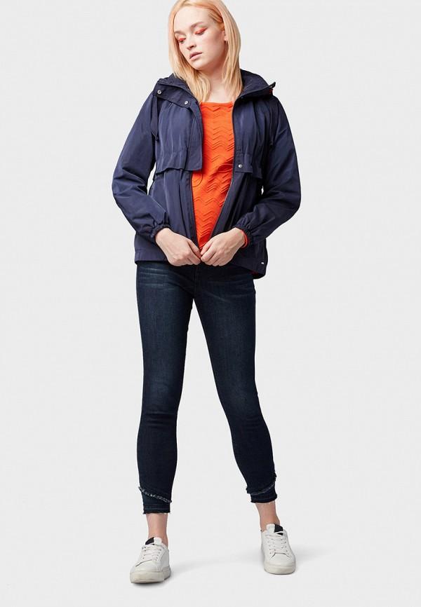 Фото 2 - Куртку Tom Tailor Denim синего цвета
