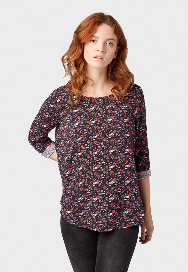 Фото - женскую блузку Tom Tailor Denim разноцветного цвета