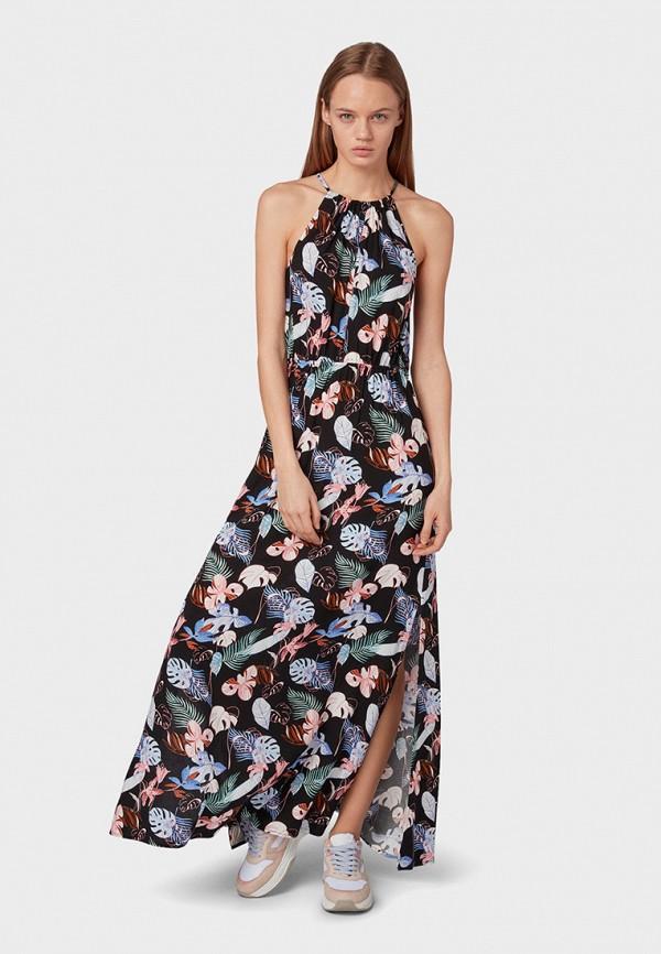 Платье Tom Tailor Denim Tom Tailor Denim TO793EWGSHJ1 недорго, оригинальная цена