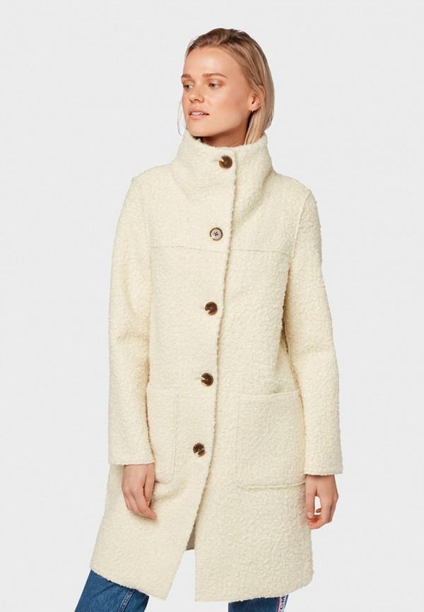 Пальто Tom Tailor Denim Tom Tailor Denim TO793EWGSHJ9 цены онлайн